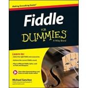Fiddle for Dummies, Book + Online Video and Audio Instruction, Paperback/Michael John Sanchez