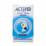 Actifed Decongestionante mucosa nasale 12 compresse 2,5 mg+60 mg