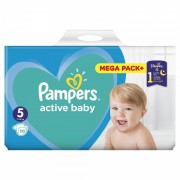 Scutece Pampers Active Baby 5 Mega Box, 110 buc/pachet