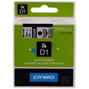Dymo 45800 Cinta mecanográfico negro sobre transparente Original S0720820