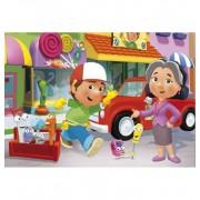 Puzzle 104 piezas Handy Manny Amigos - Clementoni