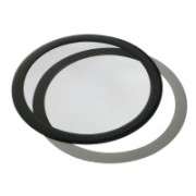 DEMCiflex Round Dust Filter 225mm - Nero
