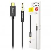 Baseus M01 USB Type-C / 3.5mm Audio Cable - 1.2m - Black