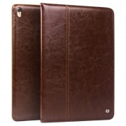 iPad Pro 10.5 Qialino Classic Smart Folio Leather Case - Brown