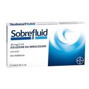 Pharmaidea srl Sobrefluid*nebul 10f 3ml 40mg