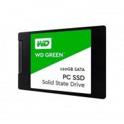 "UNIDAD SSD WD WDS120G2G0A 120GB GREEN 2.5"" SATA-negro"
