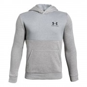 Under Armour Sweater Met Capuchon Jongens - lichtgrijs