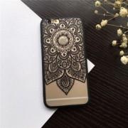 Husa Silicon Neagra Iphone 6 / 6S FlowerDreamCatcher