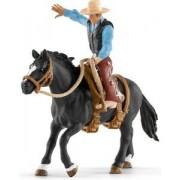 Schleich Horse Club Western Cowboy in het Zadel 41416