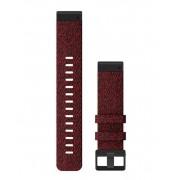 Garmin QuickFit 22 Nylon - Klockarmband - Röd