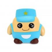 Squishy Baietel Soldat Albastru