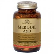Merl oil a&d flacone 100 perle softgel