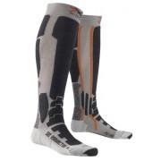 X-Socks Ski Radiactor Calze da sci - Silver/Anthracite