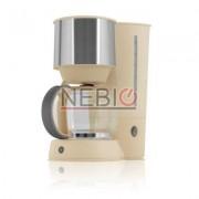 Filtru de cafea Victronic, 1080 W, 15 Cesti, Crem