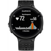 Ceas activity outdoor tracker Garmin Forerunner 235, GPS, HR monitor, Rezistent la apa 5 ATM (Negru/Gri)