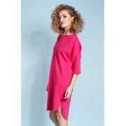 Madnezz Magnetyczna koszulo-sukienka April - Fuksja