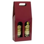 Karton na 2 vína - červený