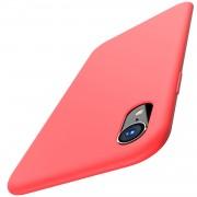 Husa APPLE iPhone XR - Luxury Slim Mat TSS, Rosu