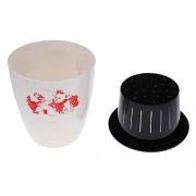 ELECTROPRIME Self-Watering Flower Pot Potting Herbs, Violets, Succulents, Flowers L