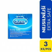Durex Prezervative Extra Safe 3 ks
