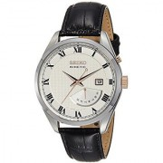 Seiko Analog White Dial Mens Watch - SRN073P1