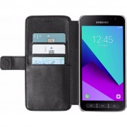 Azuri Wallet Magneet Samsung Galaxy Xcover 4 Book Case Zwart