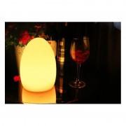 Barcelona LED Oeuf lumineux LED RGBW 14*19cm en résine 1W IP65 sans fil - Mobilier lumineux