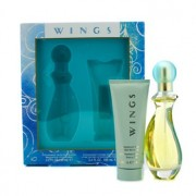 Wings Coffret: Eau De Toilette Spray 90ml/3oz + Body Moisturizer 100ml/3.4oz 2pcs Wings Комплект: Тоалетна Вода Спрей 90мл + Овлажнител за Тяло 100мл