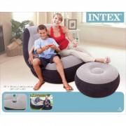 Set Scaun Gonflabil cu Taburet Ultra Lounge - INTEX 68564