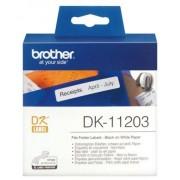 Brother Cinta para impresora de etiquetas, BROTHER, 300Por rollo Etiquetas, Negro, DK 11203