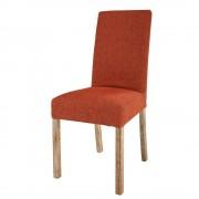 Maisons du Monde MARGAUX orange fabric chair cover
