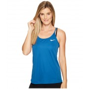 Nike Dry Miler Running Tank Industrial BlueBinary Blue