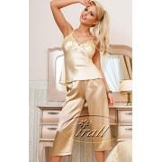 Parisa piżama (beżowo-kremowy)