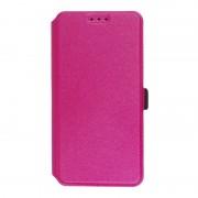 Kалъф - тефтерче със силикон Slim за Huawei P9 Lite - Розов