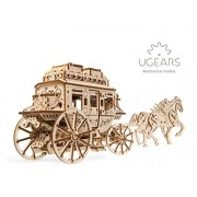 Puzzle 3D - Trasura cu cai, 248 piese