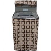 Dream Care Waterproof & Dustproof Printed Washing Machine Cover for Samsung Fully Automatic Washing Machine WA65H3H5QRP 6kg