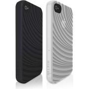 Belkin Silliconen Hoesjes voor Apple iPhone 4/4s - Zwart en Wit