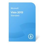 Microsoft Visio 2013 Standard, D86-04736 elektronikus tanúsítvány