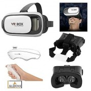 VR BOX 3d Glass with Bluetooth Remote (Smart Glasses)