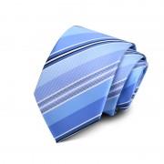 Cravata barbati albastra cu dungi Malory