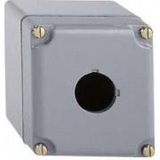 Cutie goală pentru butoane - 9001sk - plastic - 1 cut-out - Lampi semnalizare metalice Ø30 - 9001SKY1 - Schneider Electric