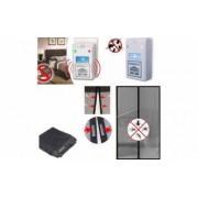 Set 2 Aparate Anti-rozatoare + Plasa Anti-insecte cu Inchidere Magnetica