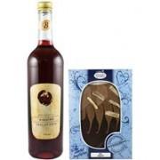 Vin de Cirese 9%alc. si Ciocolata 750ml si 150gr Bavaria