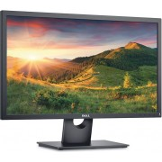 Monitor 23.8'' DELL E-series E2417H, 1920x1080, FHD, IPS Antiglare, 16:9, 1000:1, 250cd/m2, 8ms, 178/178, VGA, DisplayPort, Tilt, 3Y