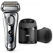 Braun Series 9 Shaver Wet & Dry, Rechargeable with Clean & Charge Station & Travel Case (9292CC)