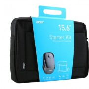 "Чанта за 15.6"" лаптоп Acer Notebook Starter Kit + безжична мишка"
