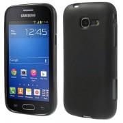 Capa em TPU Flexível para Samsung Galaxy Fresh S7390 - Preto
