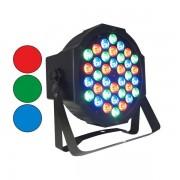 Proiector Lumini PAR LED Light Slim 36 LEDuri 1W RGB DMX