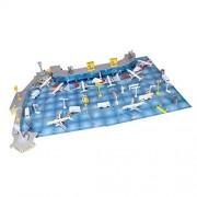 Segolike 200 Pieces Plastic Plane Model Kits Passenger Aircraft Model Educational Toy