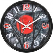 Evelyn Round Design Wall Clock for Office Bed Room Lobby Kitchen Stylish Wall Clocks Modern Wall Clock-Evc-013